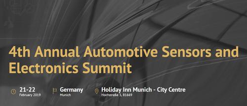 ADS will pitch at Automotive Summit (21-22 Feb. Munich)