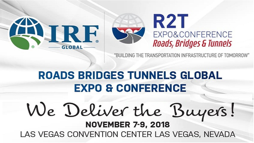 RPS will be presented at the International Road Federation Global R2T Conference